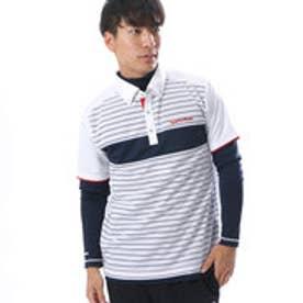テーラーメイド TaylorMade メンズ ゴルフ 長袖シャツ CA カラーブロックレイヤードシャツ LOA87