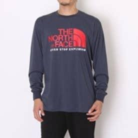 ザ ノース フェイス THE NORTH FACE アウトドアTシャツ NT81500カラーLS ネイビー (ネイビー)