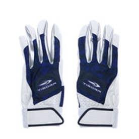 ティゴラ TIGORA メンズ 野球 バッティング用手袋 TR-8BA1017GL NV