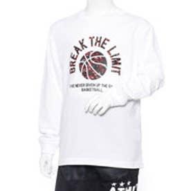 ティゴラ TIGORA ジュニア バスケットボール 長袖Tシャツ TR-8KW4608TL TR-8KW4608TL