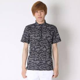 【アウトレット】ティゴラ TIGORA ゴルフシャツ  TR-1H1076B ブラック (ブラック)