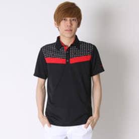 【アウトレット】ティゴラ TIGORA ゴルフシャツ  TR-1H1056B ブラック (ブラック)