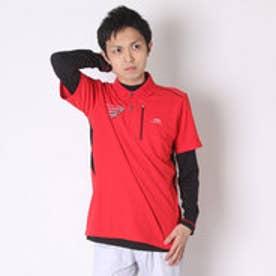 【アウトレット】ティゴラ TIGORA ゴルフシャツ  TR-1L1006RYP レッド (レッド)