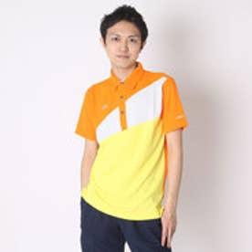 【アウトレット】ティゴラ TIGORA ゴルフシャツ  TR-1H1046B オレンジ (オレンジ)