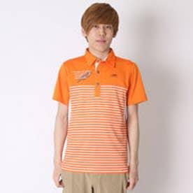 【アウトレット】ティゴラ TIGORA ゴルフシャツ  TR-1H1036P オレンジ (オレンジ)