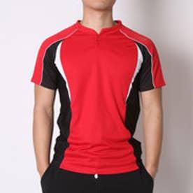 ティゴラ TIGORA 野球Tシャツ  TR-8BW1705SK (レッド×ブラック)