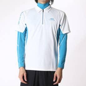ティゴラ TIGORA メンズ ゴルフ セットシャツ TR-1L1566RYZ (ホワイト)