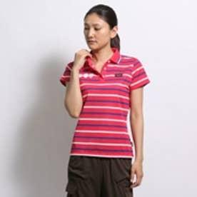 ロコンド 靴とファッションの通販サイトティゴラTigoraゴルフシャツTR-1H2025Pレッド