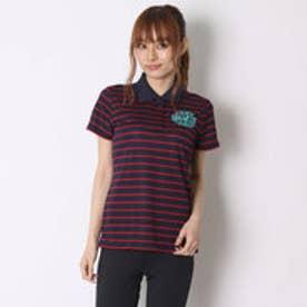 ティゴラ TIGORA ゴルフシャツ  TR-1H2036P ネイビー (ネイビー)
