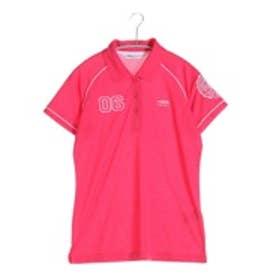 ティゴラ TIGORA ゴルフシャツ  TR-1H2016P レッド (ローズ)