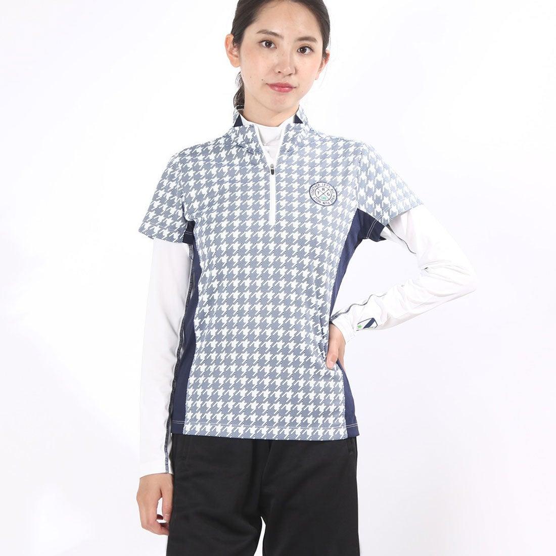 ロコンド 靴とファッションの通販サイトティゴラTIGORAレディースゴルフセットシャツ(長袖インナーシャツ&半袖シャツ)TR-1L2516RYZ