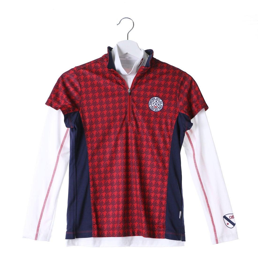 ロコンド 靴とファッションの通販サイトティゴラ TIGORA レディース ゴルフ セットシャツ (長袖インナーシャツ&半袖シャツ) TR-1L2516RYZ