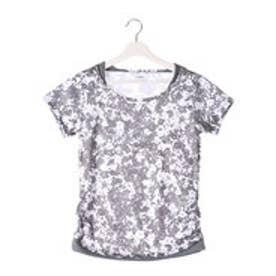 ティゴラ TIGORA レディース フィットネス 半袖Tシャツ Tシャツ TR-3F2546TS (グレー)