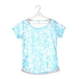 ティゴラ TIGORA レディース フィットネス 半袖Tシャツ Tシャツ TR-3F2546TS (グリーン)