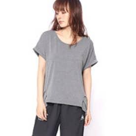 ティゴラ TIGORA レディース フィットネス 半袖Tシャツ TR-3F2848TS