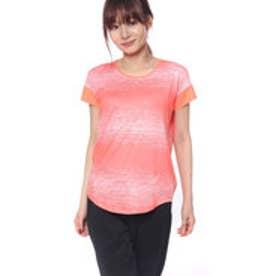 ティゴラ TIGORA レディース フィットネス 半袖Tシャツ TR-3F2008TS (ピンク)