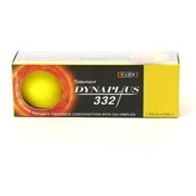 トブンダ Tobunda ゴルフボール 1スリーブ(3個入)DYNAPLUS ダイナプラス 332 フラッシュイエロー