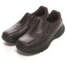 ロコンド 靴とファッションの通販サイトトパーズTOPAZウォーキングシューズMTZ0087ブラウン0247(ダークブラウン)