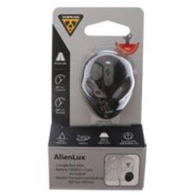 トピーク TOPEAK ライト、リフレクター ライト、 TPK ブラック エイリアン レッド LED LPT0400000000 ブラック (ブラック)
