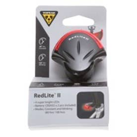 トピーク TOPEAK ライト、リフレクター ライト、 TPK レッドライト II BK 10 LPT0430000000 ブラック (ブラック)