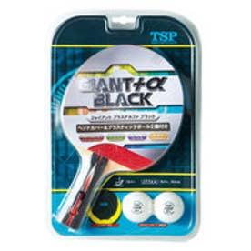ティーエスピー TSP 卓球 ラケット(レジャー用) ジャイアントプラスアルファ ブラック 025570