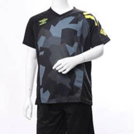 アンブロ UMBRO ジュニア サッカー フットサル 半袖 シャツ JRプラクテシィスシャツ UUJLJA60AP
