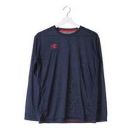 アンブロ UMBRO メンズ 長袖機能Tシャツ ワンポイントクルーネックシャツ UCA7695