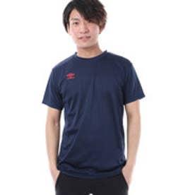 アンブロ UMBRO メンズ 半袖機能Tシャツ ワンポイントCネックシャツ UCS7754B
