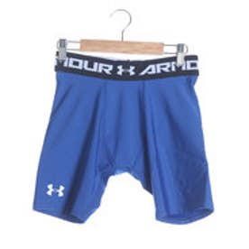 アンダーアーマー UNDER ARMOUR サッカーハーフスパッツ UA HEATGEAR ARMOURプレイヤーショーツ MSC2922 ブルー  (ロイヤルブルー)