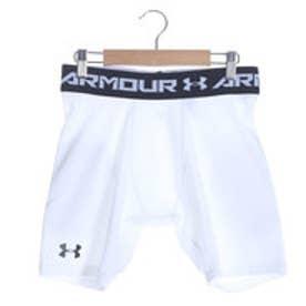 アンダーアーマー UNDER ARMOUR サッカーハーフスパッツ UA HEATGEAR ARMOURプレイヤーショーツ MSC2922  (ホワイト)