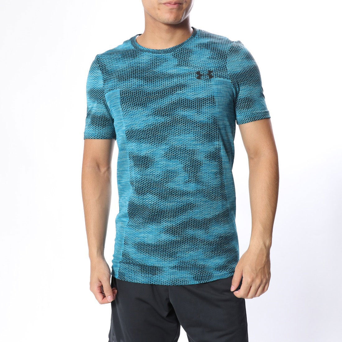 アンダーアーマー UNDER ARMOUR メンズ 半袖機能Tシャツ UA Siphon SS Camo Novelty 1325623 メンズ
