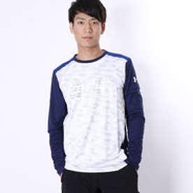 アンダーアーマー UNDER ARMOUR バスケットボール 長袖Tシャツ #MBK3867 (ホワイト)