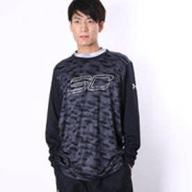 アンダーアーマー UNDER ARMOUR バスケットボール 長袖Tシャツ #MBK3867 (ブラック)