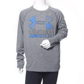 アンダーアーマー UNDER ARMOUR 長袖機能Tシャツ UA THREADBORNE BIG LOGO LS 1299391