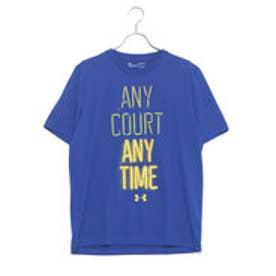 アンダーアーマー UNDER ARMOUR ユニセックス バスケットボール 半袖Tシャツ UA ANY COURT ANY TIME POLY T 1304505