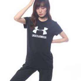 アンダーアーマー UNDER ARMOUR レディース 半袖Tシャツ UA SPORTSTYLE CREW SS 1298611 (ブラック)