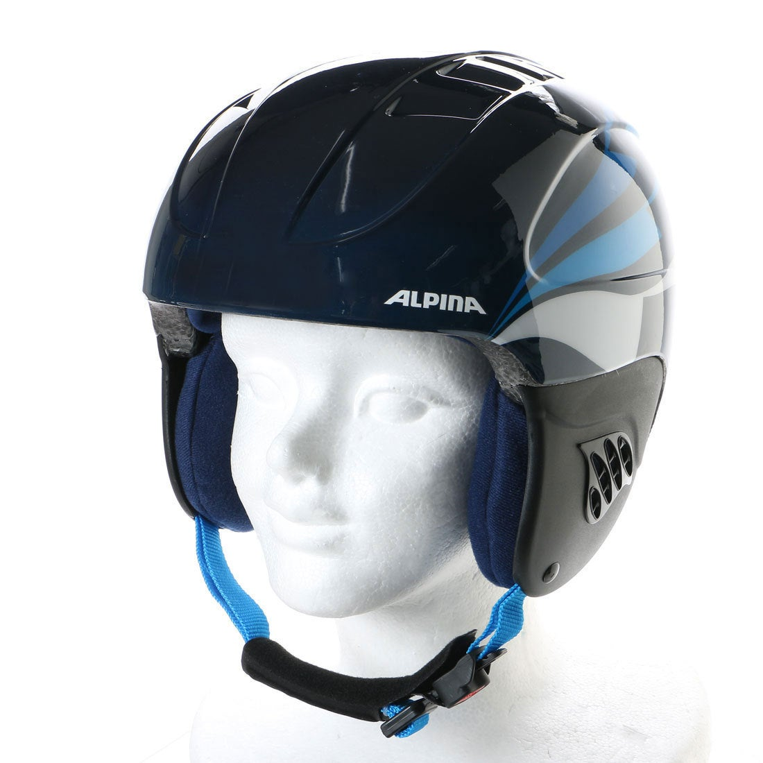 【SALE 20%OFF】ウベックス UVEX ジュニア スキー/スノーボード ヘルメット CARATNBL 208