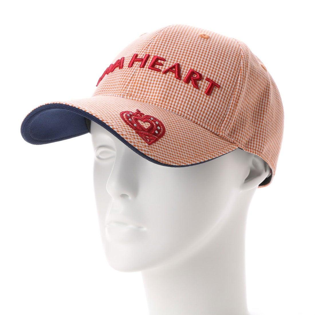 ビバハート VIVA HEART ゴルフキャップ VH 017-53316 CP (オレンジ) レディース