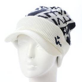 ビバハート VIVA HEART レディース ゴルフ ニット帽子 アクリル ロゴニットツバツキキャップ 013-58062