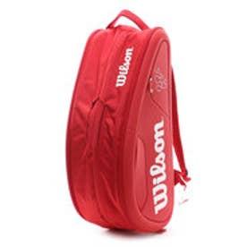 ウィルソン Wilson ユニセックス テニス ラケットバッグ フェデラー DNA 12PK WRZ830712