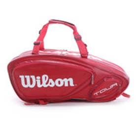 ウィルソン Wilson テニスラケットケース ツアー V 9PK WRZ847609 (レッド)