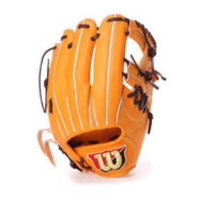 ウィルソン Wilson ユニセックス 硬式野球 野手用グラブ Wilsonstaff WTAHWC5SH WTAHWC5SH WL03 (オレンジ)
