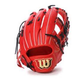 ウィルソン Wilson ユニセックス 硬式野球 野手用グラブ Wilsonstaff WTAHWC47D WTAHWC47D WL03 (オレンジ)