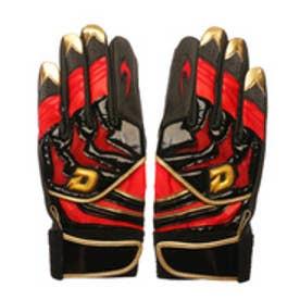 ウィルソン Wilson ユニセックス 野球 バッティング用手袋 ディマリニ バッティング手袋(両手用) WTABG0703 ブラックXレッド WTABG0703S
