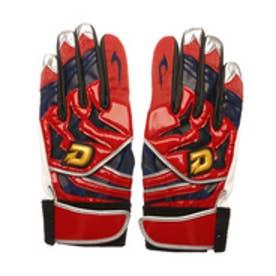 ウィルソン Wilson ユニセックス 野球 バッティング用手袋 ディマリニ バッティング手袋(両手用) WTABG0704 レッドXネイビー WTABG0704S