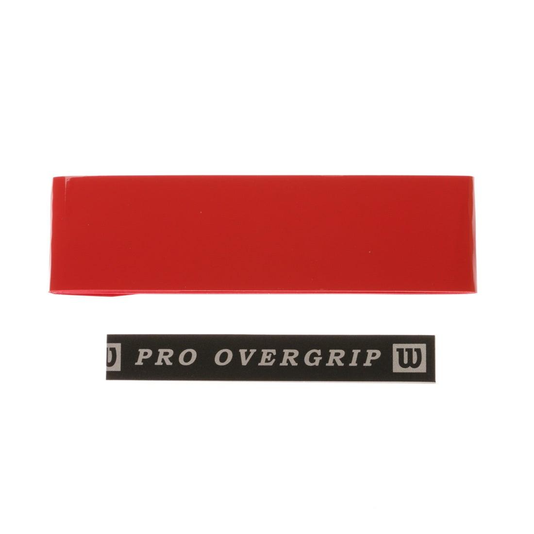 ウィルソン Wilson テニス グリップテープ プロオーバーグリップ 1本入り WRZ4001RD
