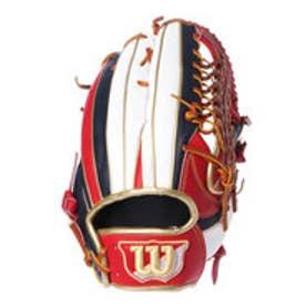 ウィルソン Wilson 軟式野球 野手用グラブ 一般用 Wannabe HERO DUAL 外野手用 D8F WTARHED8F