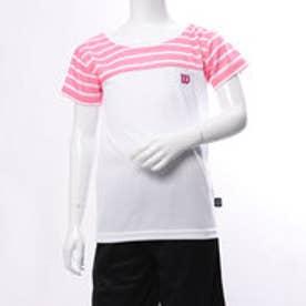 ウィルソン Wilson ジュニア 半袖 機能Tシャツ 吸汗速乾 Tシャツ WJ6077