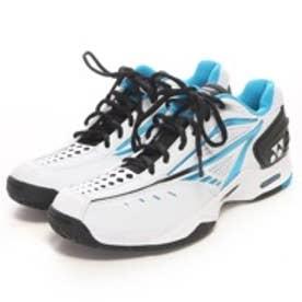 ヨネックス YONEX テニスシューズ(オールコート用) パワークッション エアラスAC SHTAAC ホワイト×サックス 520 (ホワイトSX)