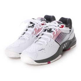 ヨネックス YONEX ユニセックス テニス オールコート用シューズ パワークッション ワイド235 SHT-235W 100